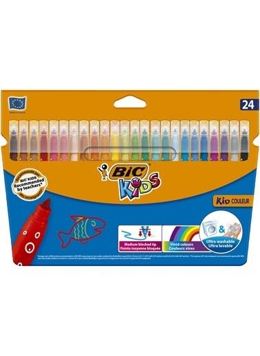 Bic 24 Renk Keçeli Kalem Renkli